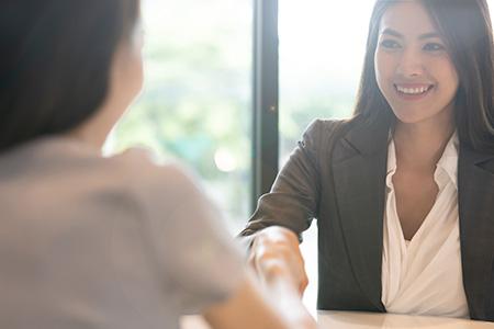 A hallway that used to be busy