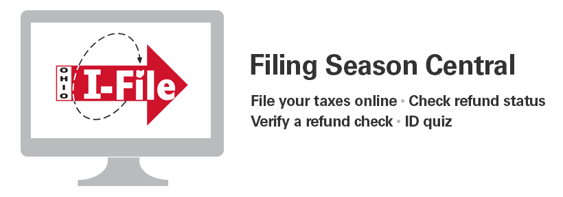 Filing Season Central -- File your taxes online and check your refund status