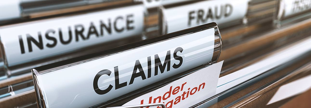 Report Insurance fraud banner